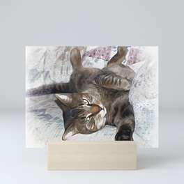 Mister Cat Mini Art Print
