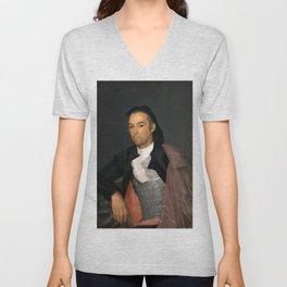 "Francisco Goya ""Portrait of the Matador Pedro Romero"" Unisex V-Neck"