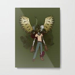 Bear Acolyte Metal Print