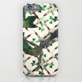 mermalid gliter pattern iPhone Case