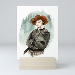 Jamie Fraser  Mini Art Print