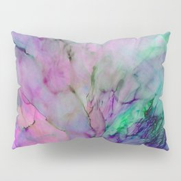 ALCOHOL INK Cvb Pillow Sham