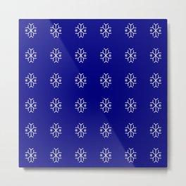 snowflake 9 For Christmas ! Metal Print