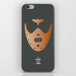 The Silence of the Lambs - Alternative Movie Poster iPhone Skin