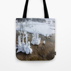 Winter in Yellowstone Tote Bag