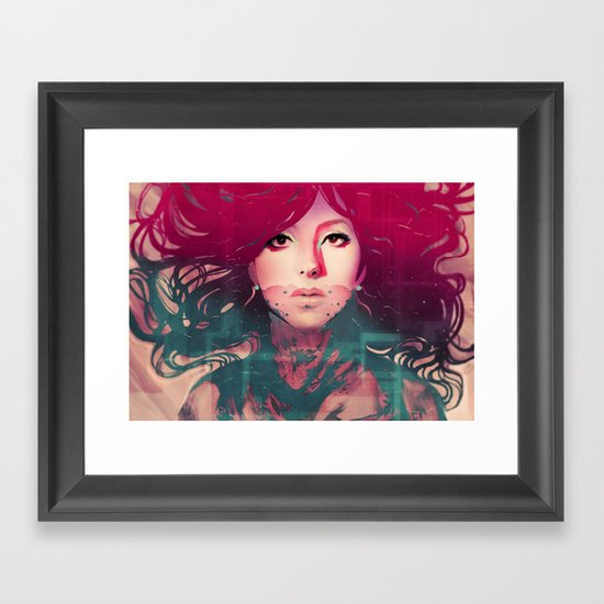 Cassie Framed Art Print