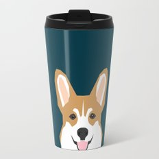 Teagan - Corgi Welsh Corgi gift phone case design for pet lovers and dog people Travel Mug