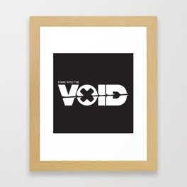 The Void Framed Art Print