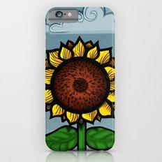 kitschy sunflower iPhone 6s Slim Case