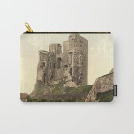 Vintage Photo-Print of Scarborough Castle (1900) Carry-All Pouch
