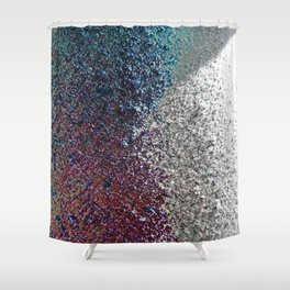 Colorful Dust in Sidelight Shower Curtain