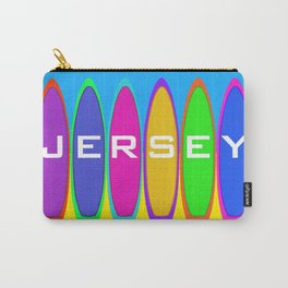 Jersey Surfboards on the Beach Carry-All Pouch