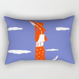 Saint Tropez Summer of 1927 Rectangular Pillow