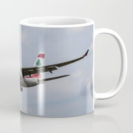 Middle Eastern Airlines MEA Airbus A330 Coffee Mug