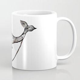 paisley whale Coffee Mug