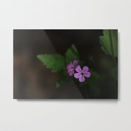Pretty in Purple Metal Print
