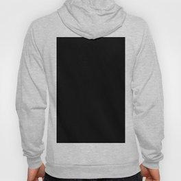 Plain Solid Black Hoody