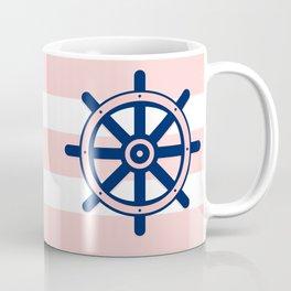 AFE Nautical Helm Wheel 2 Coffee Mug