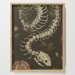 Snake Skeleton Serving Tray