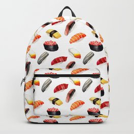 Sushi Pattern Backpack