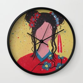 The Traditional Wedding Wall Clock