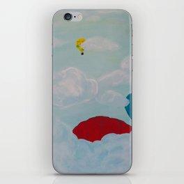 Adventuring Through the Sky iPhone Skin
