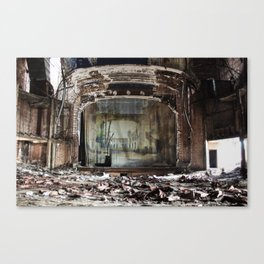 The Desolate Theater Canvas Print