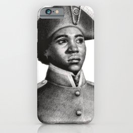Suzanne Béliar, Haitian Freedom fighter iPhone Case