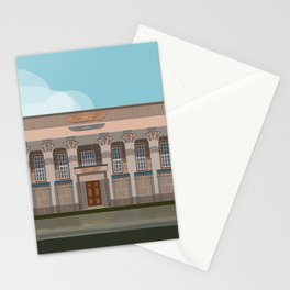 Temple Mill Leeds UK Historic Architecture  Stationery Cards