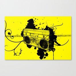 Vintage Boombox  Canvas Print