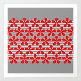crvena Art Print