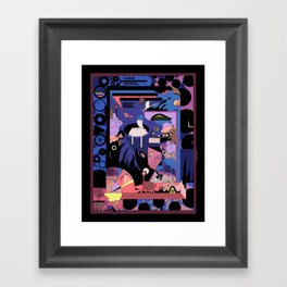 Porch Night Framed Art Print