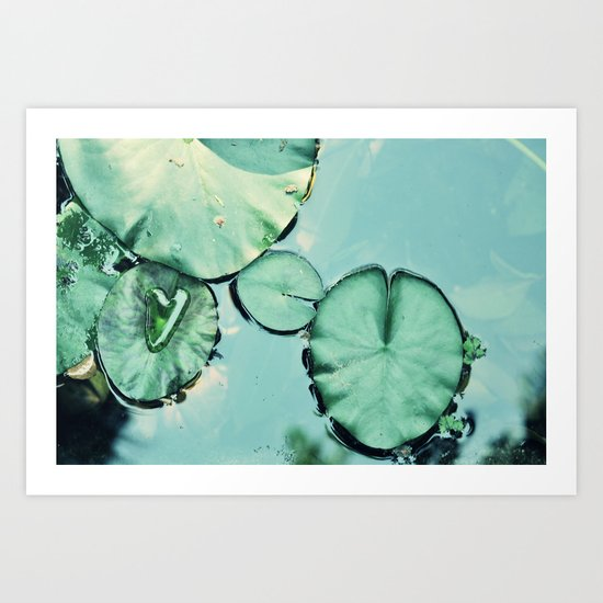 Be water Art Print