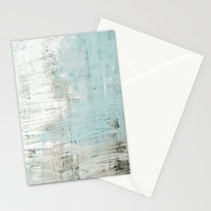 bluish green Stationery Cards