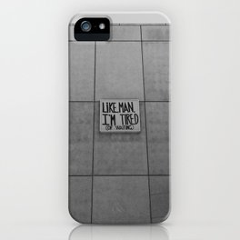 Lets go iPhone Case