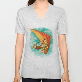 Death From Above Unisex V-Neck