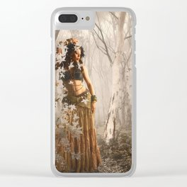 Forest's spirit Clear iPhone Case