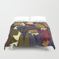 django Duvet Covers featuring Django Unchained by Ale Giorgini