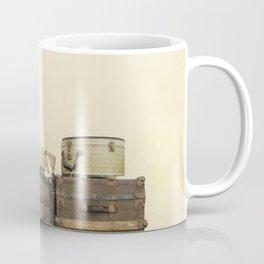 Steamer Trunks and Vintage Luggage Coffee Mug