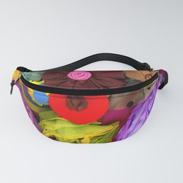 Colorful Textures Fanny Pack