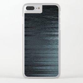 Glytch 14 Clear iPhone Case