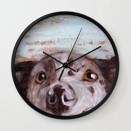 Spotty Wall Clock