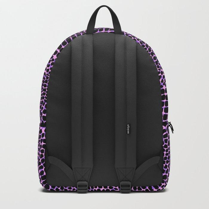 Neon crocodile/alligator skin Backpack