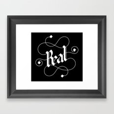 real Framed Art Print