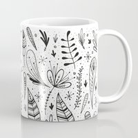 plants Mugs featuring Plants  by Pirichi