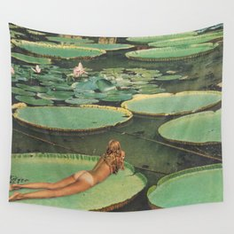 LILY POND LANE by Beth Hoeckel Wall Tapestry