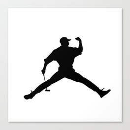 #TheJumpmanSeries, Tiger Woods Canvas Print