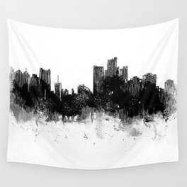 Detroit Rise From The Ashes Wall Tapestry