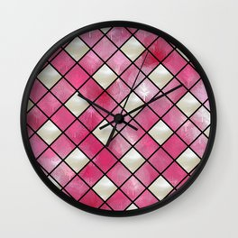Pink Bliss Wall Clock