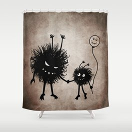 Evil Flower Bug Mother's Day Shower Curtain